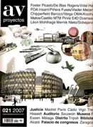 AV PROYECTOS Nº 21. FOSTER, FOA, CHIPPERFIELD, KOOLHAAS, MATOS/CASTILLO, PINOS *