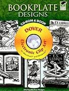 BOOKPLATE DESIGNS. CD-ROM AND BOOK (EX LIBRIS)