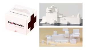 BEAMALEVICH ALPHA C3. CONSTRUCTION GAME INSPIRED BY THE ARCHITECTONS OF KAZIMIR MALEVICH