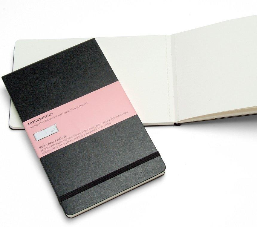 WATERCOLOUR NOTEBOOK      (CUADERNO PARA ACUARELA)