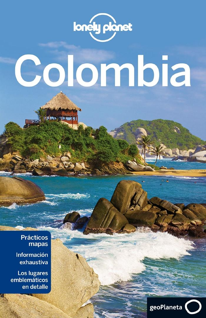 COLOMBIA, LONELY PLANET.