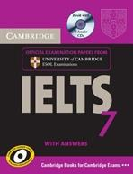 CAMBRIDGE IELTS 7 SELF-STUDY PACK. STUDENT BOOK WITH ANSWERS AND AUDIO