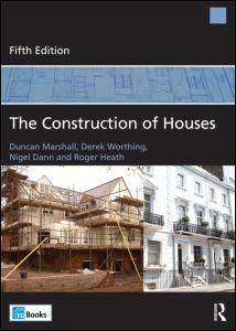 CONSTRUCTION OF HOUSES, THE. 5TH EDITION.
