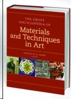 GROVE DICTIONARY OF MATERIALS & TECHNIQUES IN ART