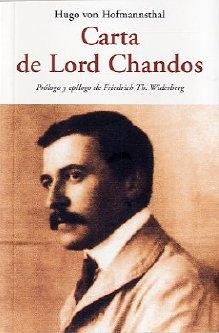 CARTA DE LORD CHANDOS