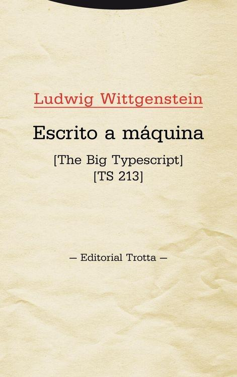 "ESCRITO A MÁQUINA ""THE BIG TYPESCRIPT   TS 213"""
