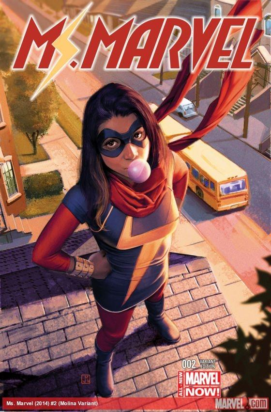 MS. MARVEL 01: FUERA DE LO NORMAL