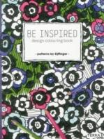BE INSPIRED. DESIGN COLOURING BOOK- PATERNS