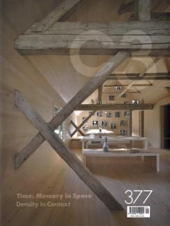 C3 Nº 377. TIME : MEMORY IN SPACE. DENSITY IN CONTEXT ( LUSCHER, DARMON, ATELIER THO A.)