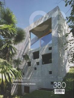 C3 Nº 380. SWISS ARCHITECTURE. NEW COMMUNITY LIBRARY