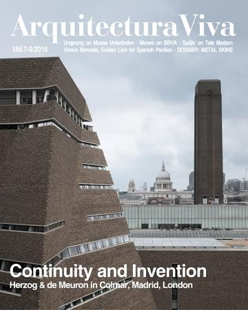 ARQUITECTURA VIVA Nº 186. CONTINUYTY AND INVENTION. MONEO, SUDJIC, URSPRUNG