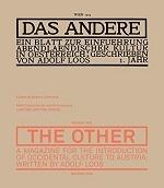 ADOLF LOOS. DAS ANDERE (THE OTHER)