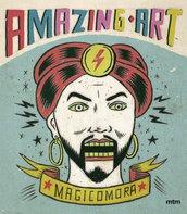 AMAZING ART  COLORING BOOK