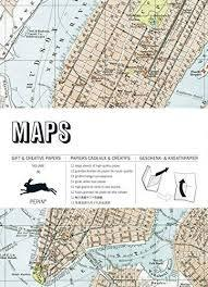 MAPS: GIFT AND CREATIVE PAPERS