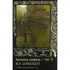 NARRATIVA COMPLETA H.P. LOVECRAFT   VOL II