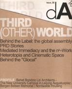 DA  Nº 02  THIRD (OTHER) WORLD  BEHIND THE LABEL      (BONDZIO LIN ARCHITECTS)
