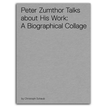 PETER ZUMTHOR TALKS ABOUT HIS WORK. DVD AUDIO
