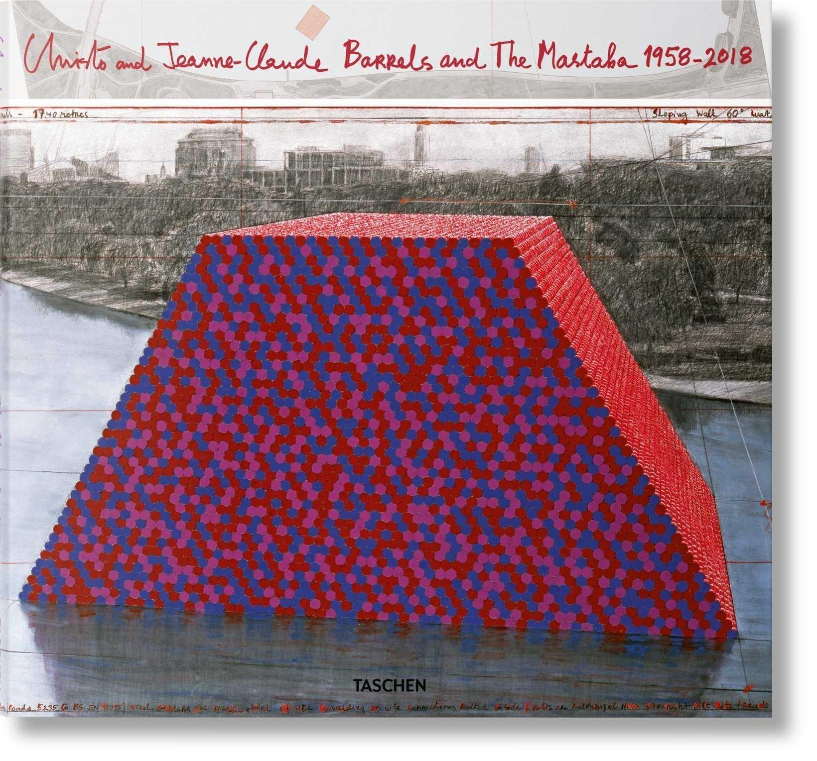 CHRISTO AND JEANNE-CLAUDE. BARRELS AND THE MASTABA