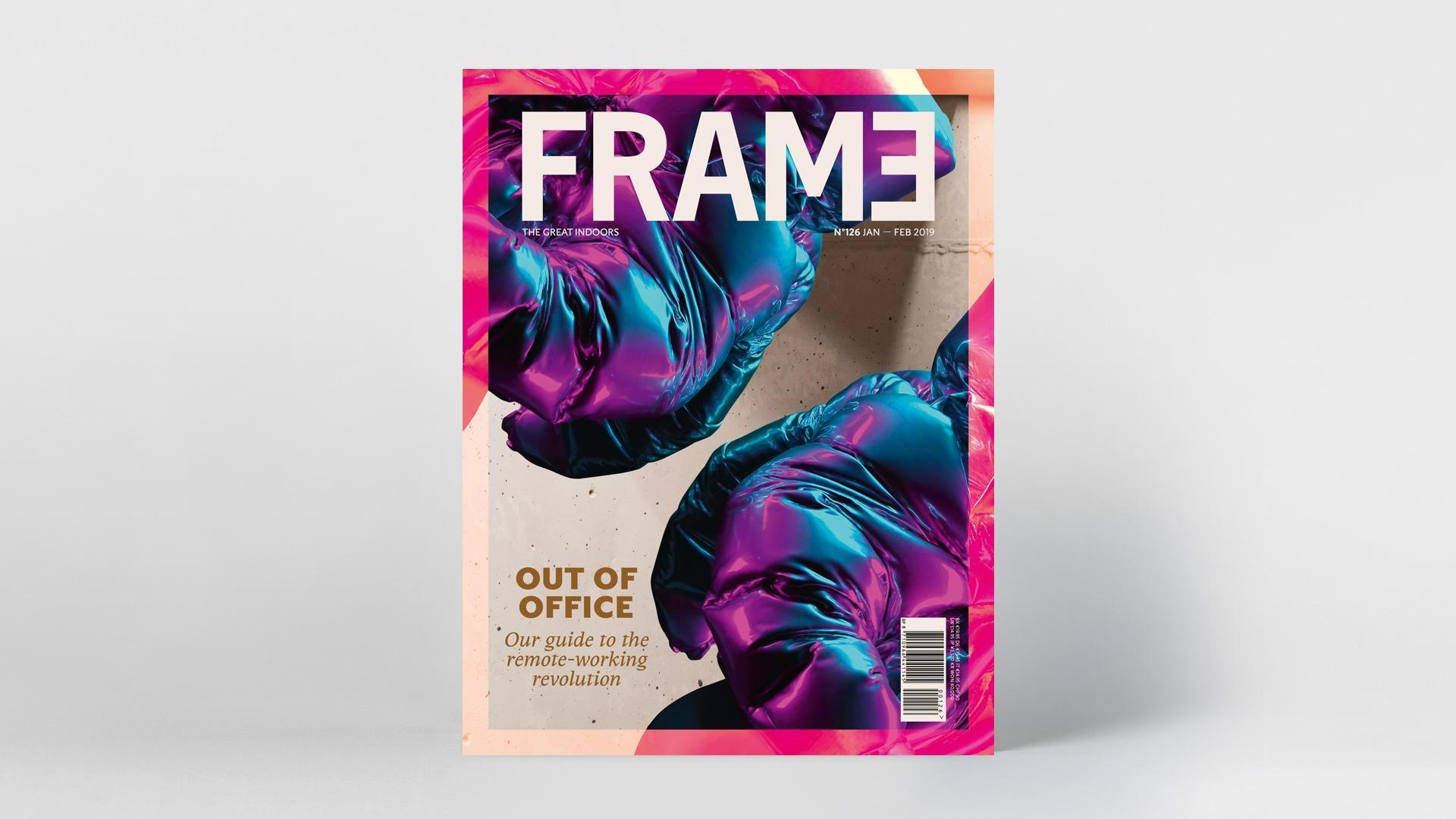 "FRAME Nº 126  OUT OF OFFICE ""OUR GUIDE TO THE REMOTE-WORKING REVOLUTION""."