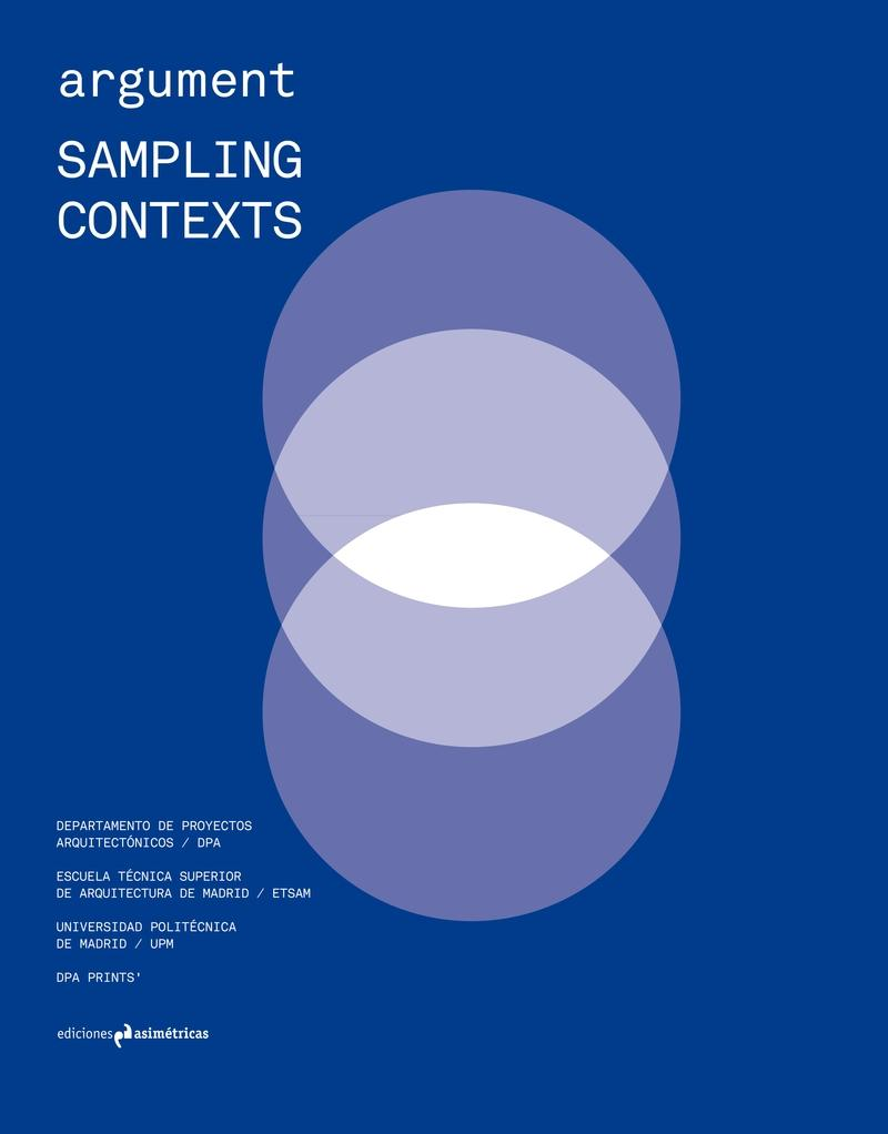 "ARGUMENT  1: SAMPLING CONTEXTS ""DPA ETSAM"""