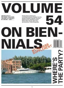 VOLUME Nº 54 ON BIENNIALS
