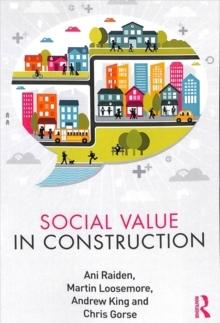 SOCIAL VALUE CONSTRUCTION