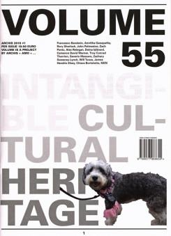 VOLUME Nº 55. INTANGIBLE CULTURAL HERITAGE