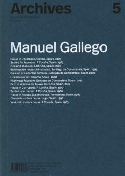 GALLEGO: ARCHIVES 5   MANUEL GALLEGO