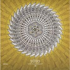 MANDALAS 2020 CALENDARIO DE PARED