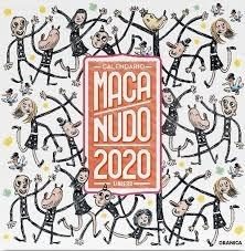 MACANUDO 2020 CALENDARIO DE PARED