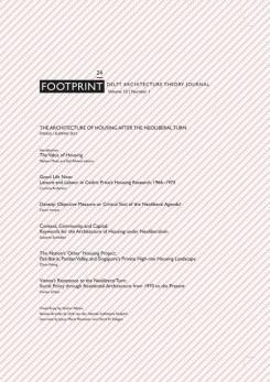 FOOTPRINT Nº 24. DELFT ARCHITECTURE THEORY JOURNAL.