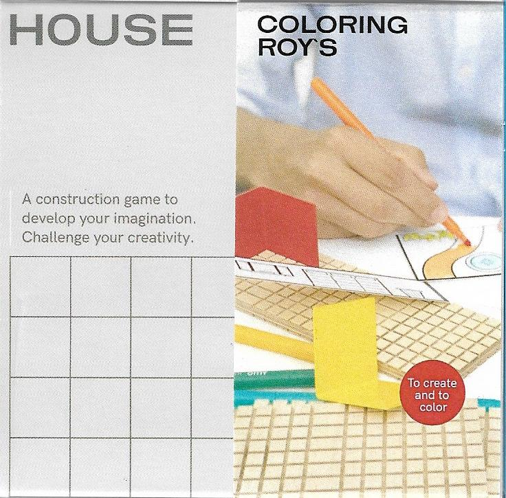 HOUSE COLORING ROY'S