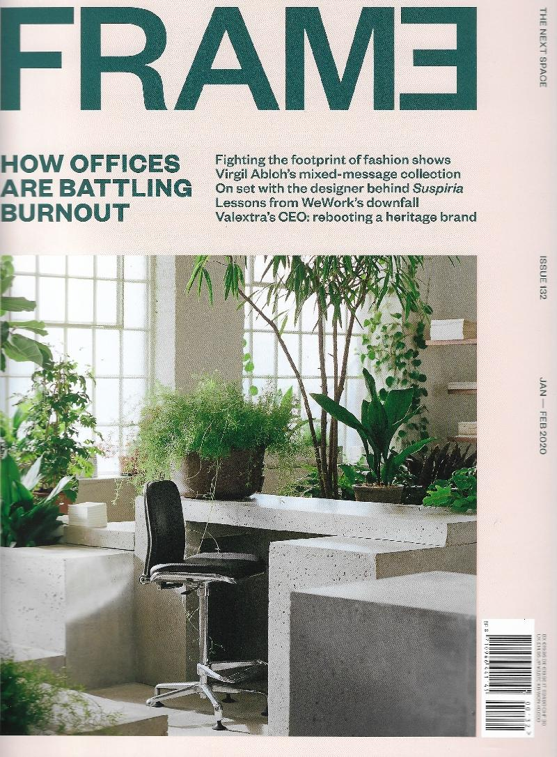 FRAME Nº  132  HOW OFFICES ARE BATTLING BURNOUT
