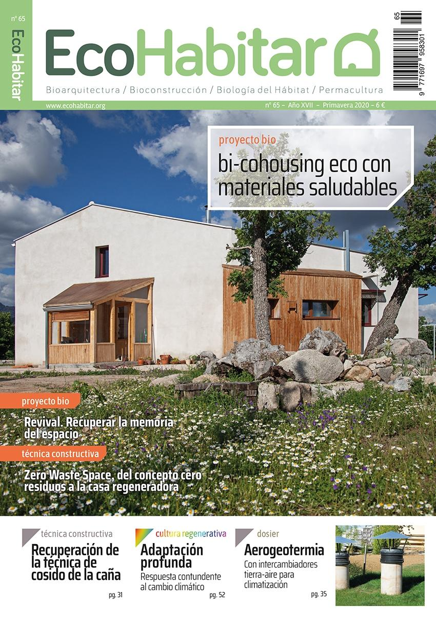 ECOHABITAR Nº 65 BI-COHOUSING ECO CON MATERIALES SALUDABLES