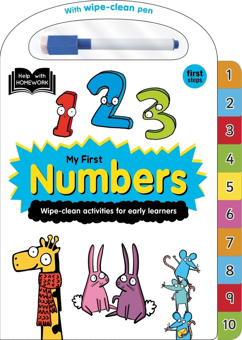 "MY FIRST NUMBERS - ING ""HELP WITH HOMEWORK: 2+"""
