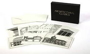 ARCHITECTURAL CLASSICS NOTECARDS - TWENTY CARDS AND ENVELOPES