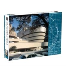 FRANK LLOYD WRIGHT GUGGENHEIM 2-SIDED 500 PIECE PUZZLE