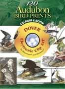 120 AUDUBON BIRD PRINTS CD-ROM AND BOOK
