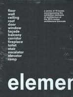 KOOLHAAS: ELEMENTS. A SERIES OF 15 BOOKS ACCOMPANYNG THE EXHIBITION ELEMENTS OF ARCHITECTURE AT THE 2014